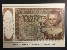 Billetes HOLANDA - Monedas (representaciones)