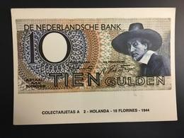 Billetes NEDERLAND - Coins (pictures)