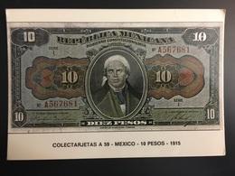 Billetes MEXICO - Monedas (representaciones)