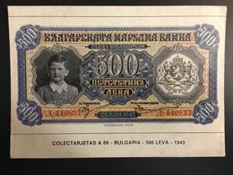 Billetes BULGARIA - Monnaies (représentations)
