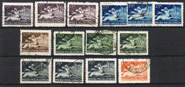 POLOGNE POSTE AERIENNE 18/23 MULTIPLES - Airmail