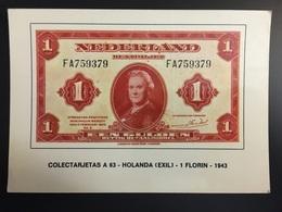Billetes NEDERLAND HOLANDA - Monnaies (représentations)
