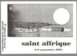 CPM 12 - Saint Affrique - 2ème Salon De La Carte Postale - 2001 - Saint Affrique