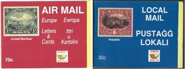1991 - MALTA -  MONUMENTI E PAESAGGI /  MONUMENTS AND LANDSCAPES - LIBRETTI / BOOKLETS. MNH - Malta