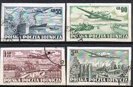 POLOGNE POSTE AERIENNE 28/31 ND - Airmail