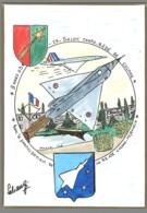 CPM 68 - Colmar - 23ème Salon De La Carte Postale - 2003 - Base Aérienne 132 - Dessin De Schangi - Colmar