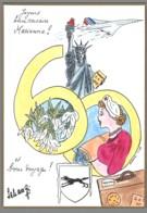CPM 68 - Colmar - 23ème Salon De La Carte Postale - 2003 - Marianne - Dessin De Schangi - Colmar