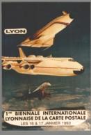 CPM 69 - Lyon - 1ère Biennale De La Carte Postale - 1993 - Création De Jacques Lardie - Concorde - Otros