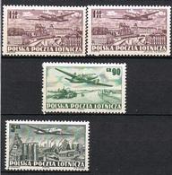 POLOGNE POSTE AERIENNE 29-31* - Airmail