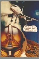 CPM 91 - Pussay - 4ème Bourse Aux Cartes Postales - 1990 - Création De Jacques Lardie - Concorde - Francia