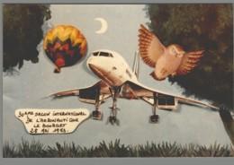 CPM 93 - Le Bourget - 30ème Salon De L'Aéronautique - 1973 - Création De Jacques Lardie - Concorde - Le Bourget