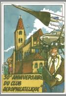 CPM 95 - Groslay - 50ème Anniversaire Du Club Aérophilatélique - Concorde - Groslay