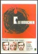 Carte Postale - Illustration : Ferracci (cinéma Affiche Film) Le Boucher (Jean Yanne - Stéphane Audran) - Affiches Sur Carte