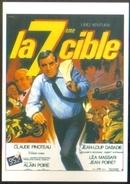 Carte Postale - Illustration : Jean Mascii (cinéma Affiche Film) La 7ème Cible (Lino Ventura) - Affiches Sur Carte