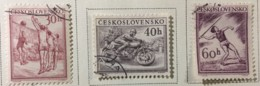 Czechoslovakia - (o) - 1953 - # 823/825 - Czechoslovakia