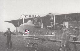 2009 St Helena Naval Aviation Centenary Complete Set Of 1 Souvenir Sheet MNH - Saint Helena Island