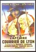 Carte Postale - Illustration : Guy Berjal (cinéma Affiche Film) L'affaire Du Courrier De Lyon - Affiches Sur Carte