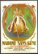 Carte Postale - Illustration : Roger Rojac (cinéma Affiche Film) Madame Sans-Gêne (Arletty) - Affiches Sur Carte
