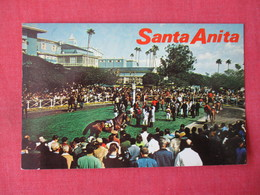 Horse Racing -- Sanata Anita Park  Arcadia  Ca.  -ref 3365 - Other