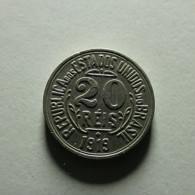 Brazil 20 Reis 1919 - Brazil