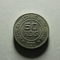 Brazil 50 Reis 1920 - Brazil