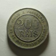 Brazil 200 Reis 1897 - Brazil