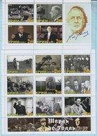 Crimea  / Stamps / Private Issue. Charles De Gaulle 2012. - Etichette Di Fantasia