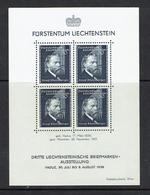 LIECHTENSTEIN...1938...MNH - Blocks & Sheetlets & Panes