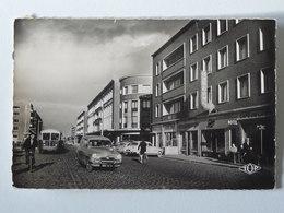 DUNKERQUE Place Jean BART Et Boulevard Ste-Barbe - Société Générale - Autobus - Voiture Simca - Dunkerque