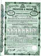 Città Di Bari PRESTITO A PREMI - Banque & Assurance