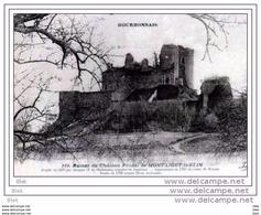 03.allier : Montaigut Le Blin .les Ruines Du Chateau . - Sin Clasificación