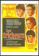 Carte Postale (cinéma Affiche Film) Les Tricheurs (Marcel Carné - Laurent Terzieff) - Affiches Sur Carte