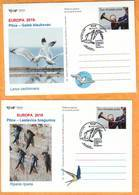 CROATIA 2019 Europa Birds Postcard Overprint (2) Postmark Zagreb 05.09. - Croatia