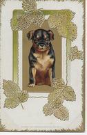 CPA - Tendresse D'un Bébé Chien, Carte Postale En Relief. - Cani