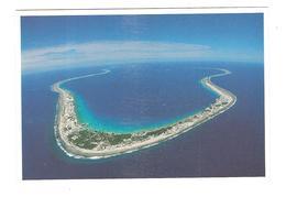 VUE AERIENNE DE L ATOLL DE MURUROA - Polinesia Francese