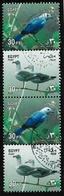 Egypte - 2001 - Série Courante - Oiseaux  -  Y&T #1715/1718 - Oblitéré - Gomme Intacte - Egypt