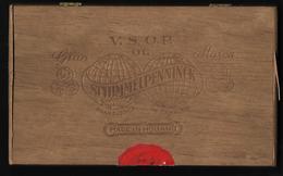 D394  Boite à Cigares En Bois Vide Schimmelpenninck - Empty Cigar Cabinet