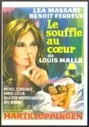 Carte Postale (cinéma Affiche Film) Le Souffle Au Coeur (Louis Malle - Léa Massari) Hartkloppingen - Affiches Sur Carte