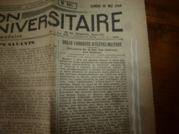 20 Mai 1944:INFO-UNI:Les élèves-maîtres Dubos,Dudot,Flambard,Helfer,etc,au Bombardement De La Ricamarie à St-Etienne,etc - Journaux - Quotidiens
