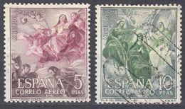 ESPAÑA - SPAGNA - SPAIN - ESPAGNE- 1962 - Lotto Di 2 Valori Usati: Yvert Posta Aerea 292/293. - Usati