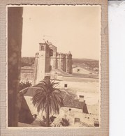 THOMAR Portugal Couvent Du Christ.  Photo Amateur 1932 Format Environ 7,5 Cm Sur 5,5 Cm - Luoghi