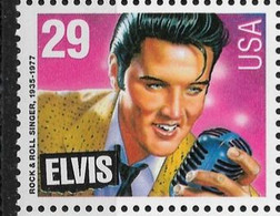US 1993 Elvis Presley Scott # 2721 Corner Block Of 8 ,VF MNH** - Music