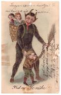 Devil Steal Bad Kids Teufel Stehlen Böse Kinder Diable Voler Mauvais Enfants - Condition Not Very Good - Torn Cut - Fairy Tales, Popular Stories & Legends