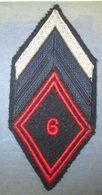 Losange Mod.1945  6° Régiment De Cuirassiers - Armée De Terre