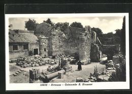 Cartolina Siracusa, Catacombe S. Giovanni - Siracusa