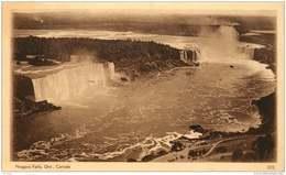 Sepia Illustrated Postcard    TNiagara Falls  ON   #303  Unused - 1903-1954 Reyes