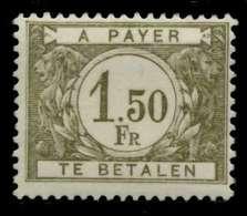 BELGIEN PORTO Nr 36 Postfrisch X94811A - Portomarken