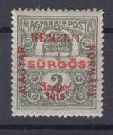 Hungary Szegedin Szeged 1919 Mi#2 Mint Hinged - Szeged