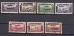 Syria 1937 Airmail Mi#418-424 Mint Hinged/used Short Set - Syria