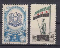 Syria 1948 Airmail Mi#566,567 Used - Syria